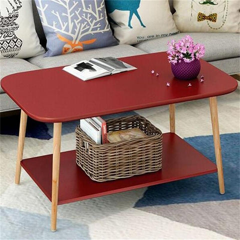 Double Layer Living Room Table