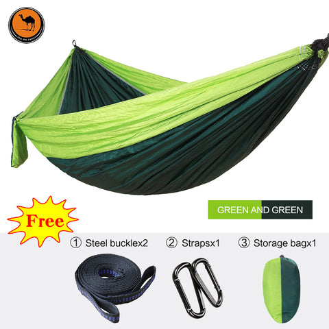 High Strength Portable Sleep Swing Durable Parachute Hammock