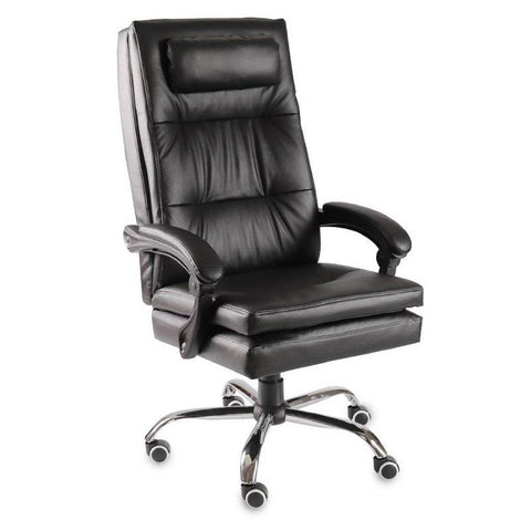 Black and White Executive Computer Chair