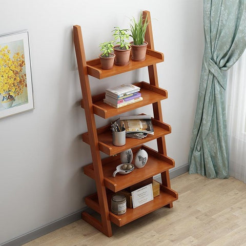 Retro Open Cabinet Decoration Furniture Book Retro Bookshelf Case