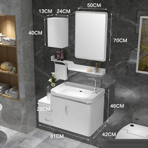 Cutting Edge Bathroom Vanity Set