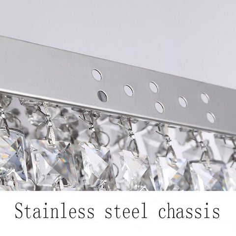 Fashion Square Crystal High Power LED Chandelier