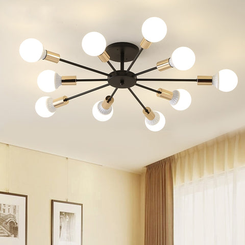 Chandelier Lights Vintag LED Chandelier Fixture