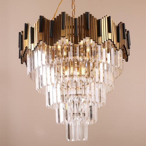 Luxury Modern Crystal LED Chandelier
