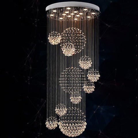 New Modern K9 LED Crystal Chandelier Crystal Lamp