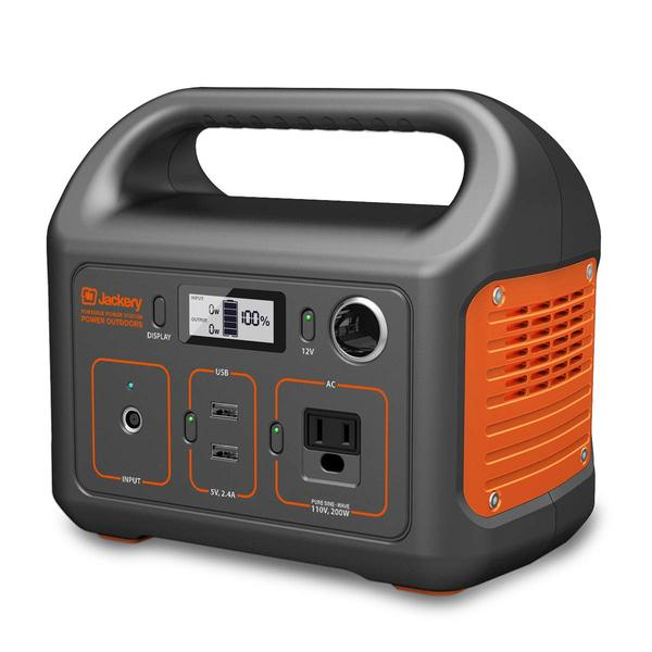 Jackery Portable Power Station Explorer 240Wh Backup Lithium Battery