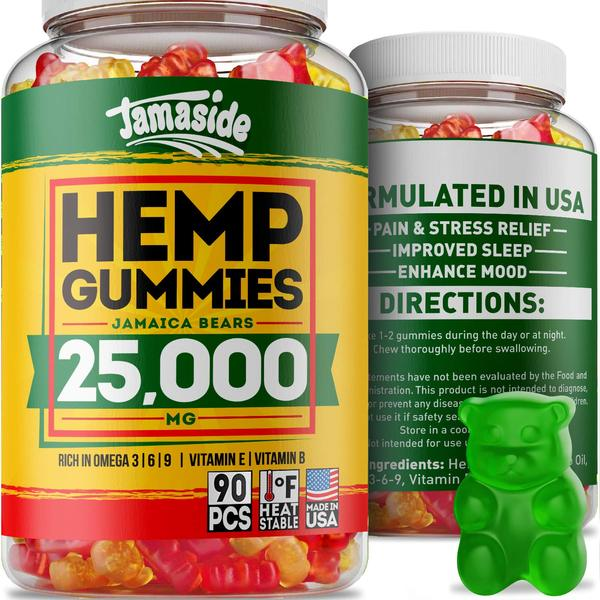 Hemp Gummies 25000 MG - Made in USA