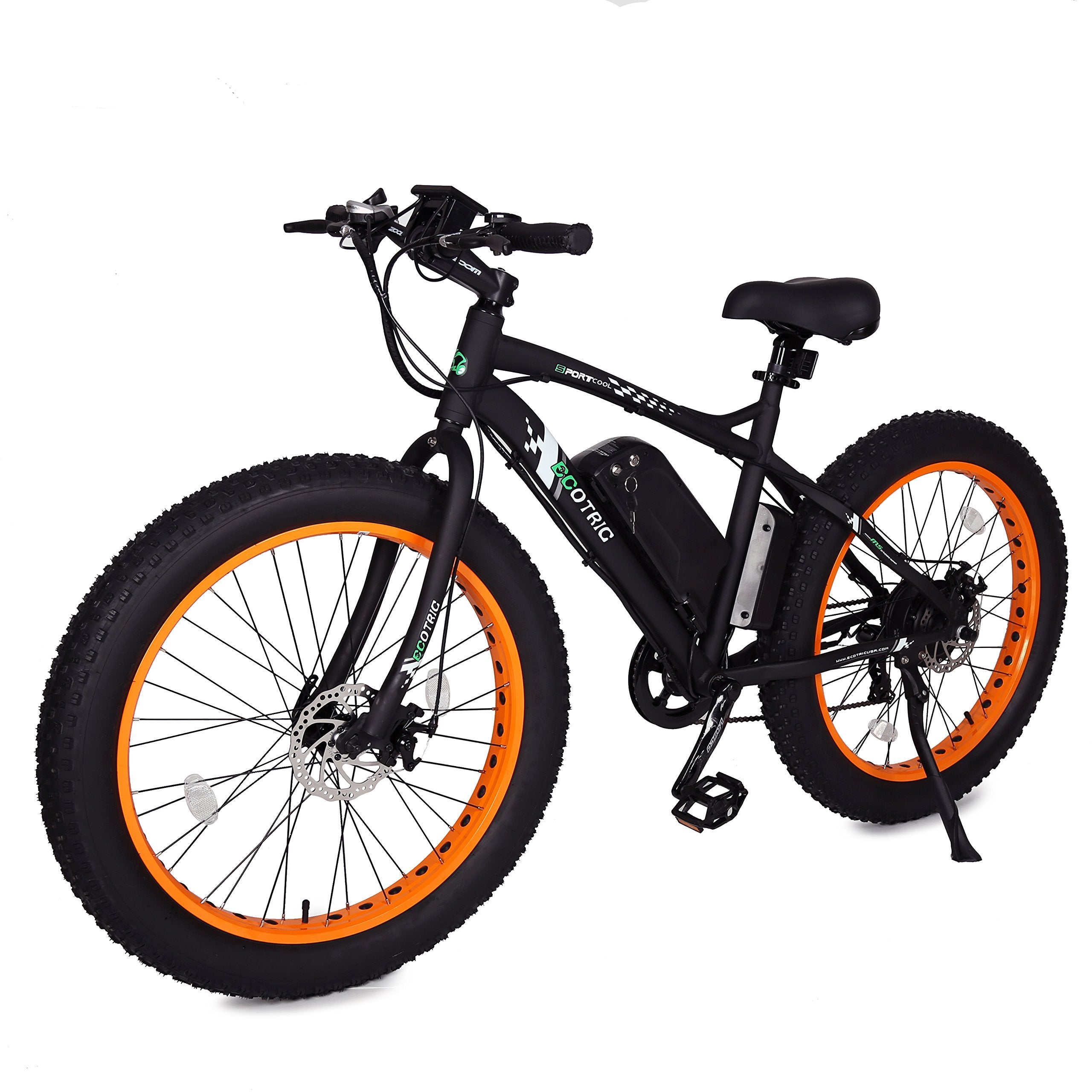 ECOTRIC Fat Tire Electric eBike Bicycle 26 inch 4.0 inch Fat Tire