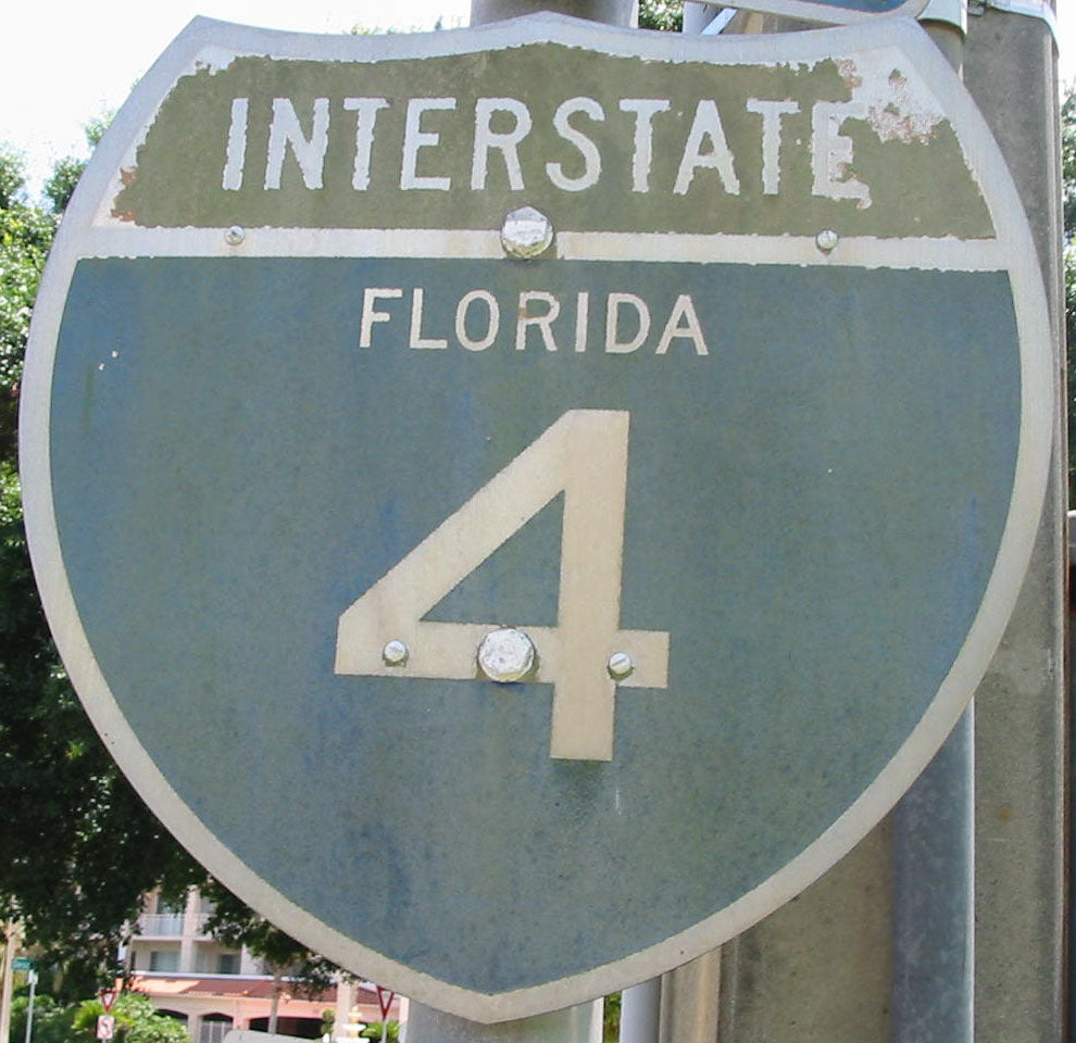 I-4 Highway Sign