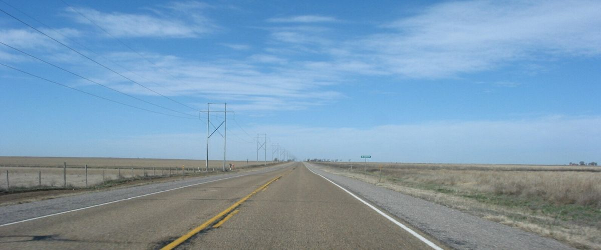 Longest Straight Road in the U.S.