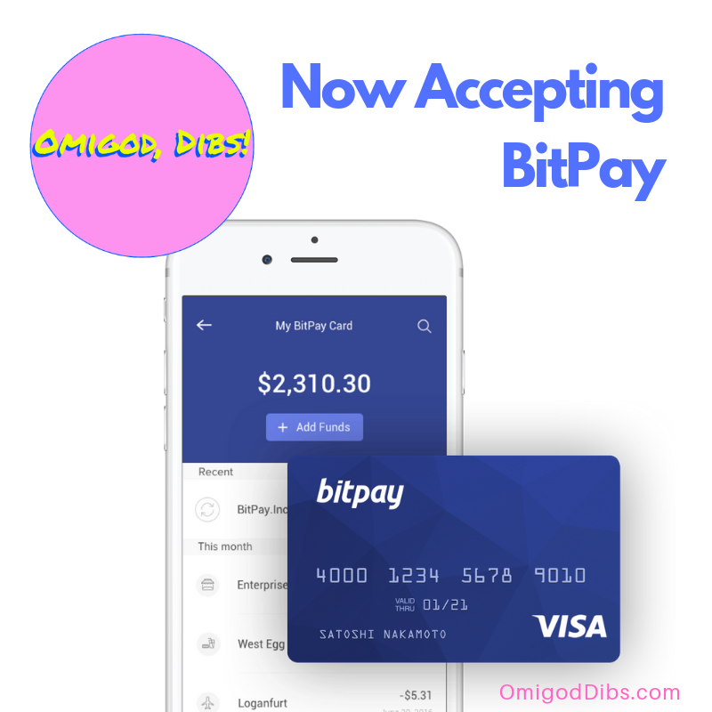 Now Accepting BitPay®