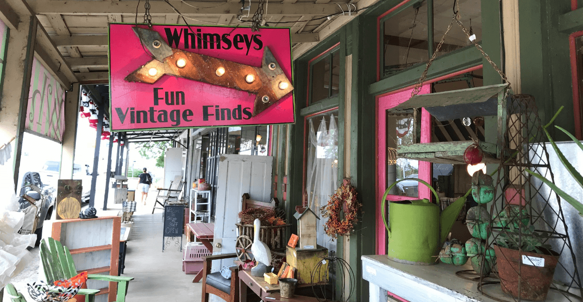 Whimseys Fun Vintage Finds in Llano, Texas