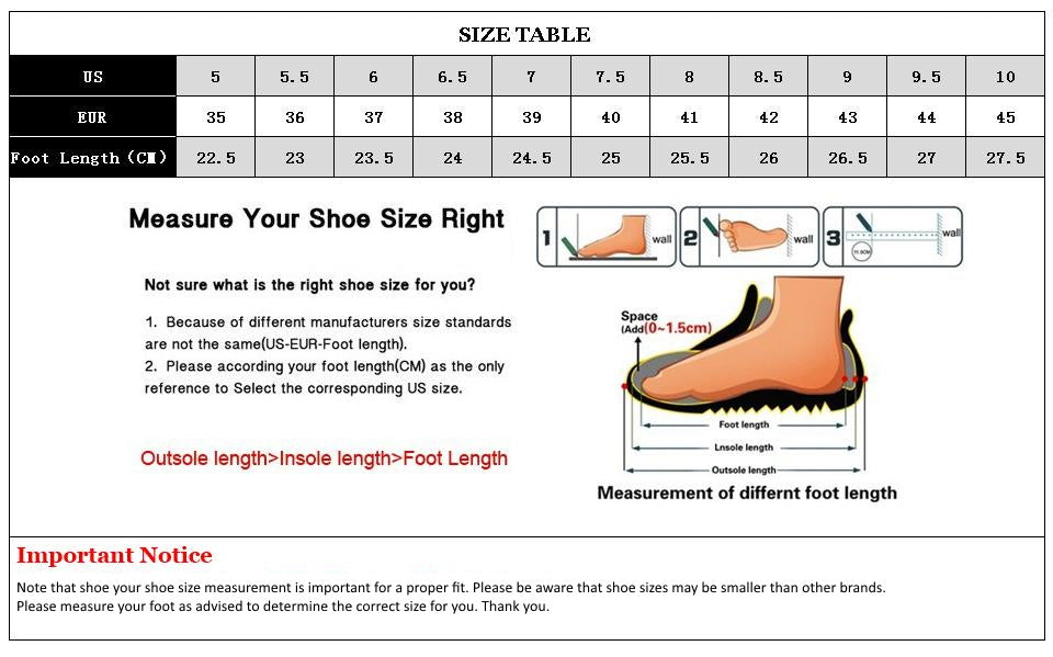 How to measure shoe size