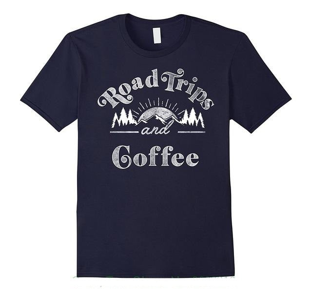 Road Trips and Coffee T-Shirt