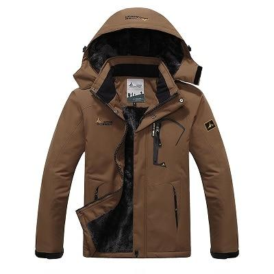 Men's Inner Fleece Waterproof Jacket