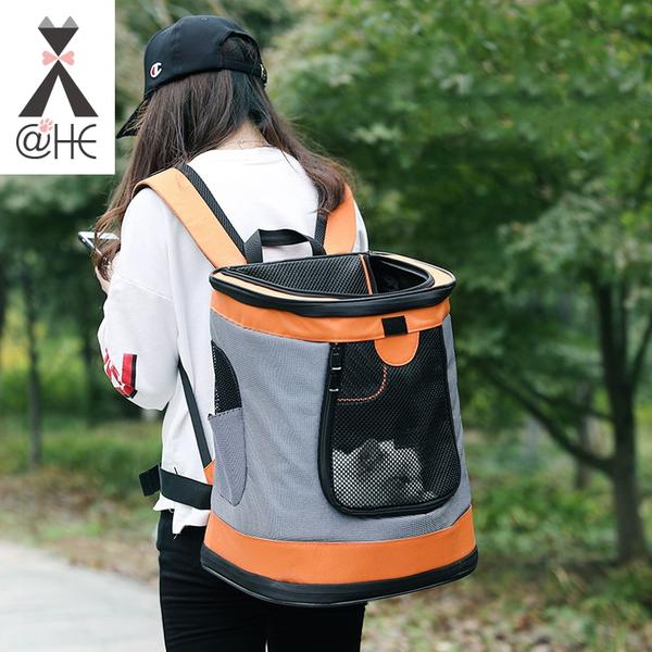 @HE Breathable Travel Shoulder Bag Pet Carrier