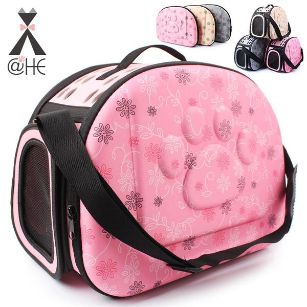 @HE Dog Carrier Travel Kennel