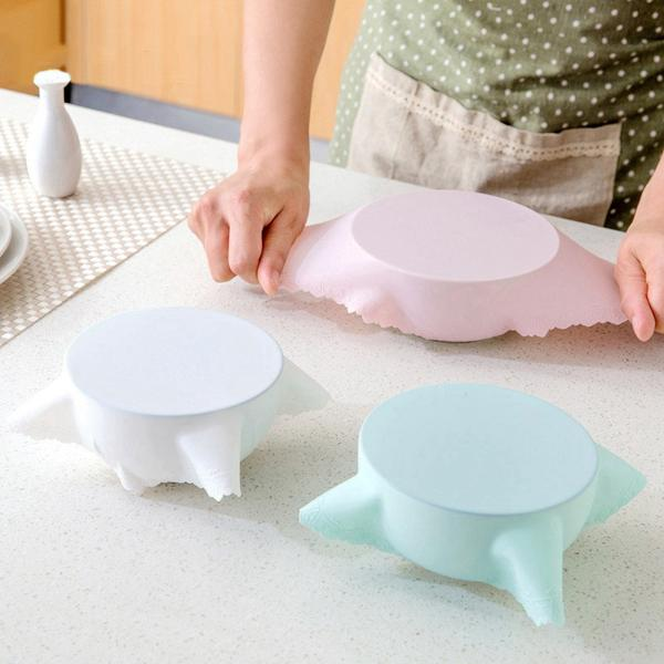 Hoomall Food Grade Silicone Wrap Lids