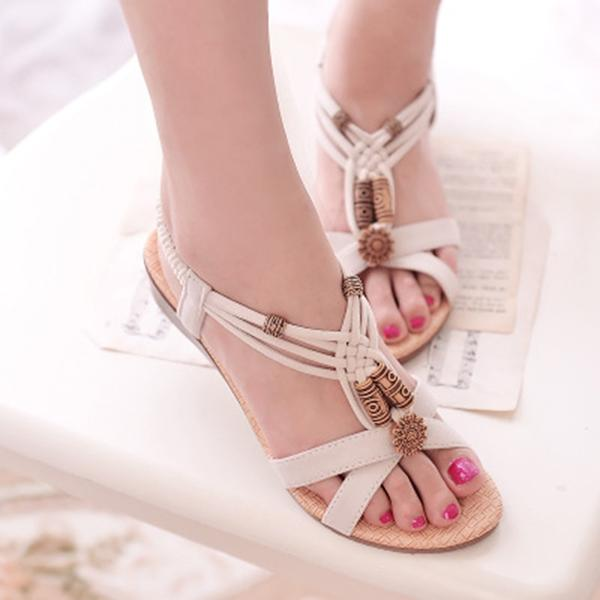 Women's Casual Roman Peep-Toe Sandals