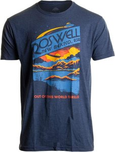 Roswell, NM Out of This World Thrills T-Shirt