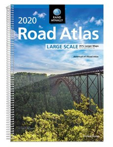 Rand-McNally 2020 Large Scale Road Atlas