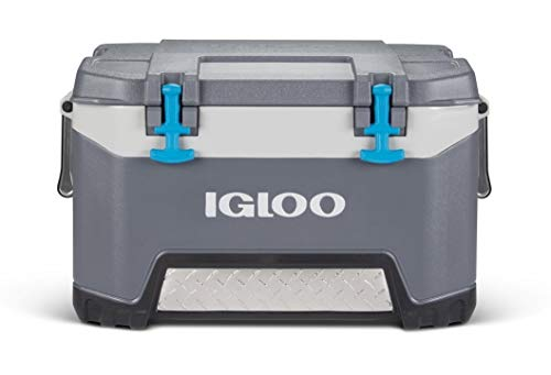 Igloo BMX 52 Quart Cooler with Cool Riser Technology, Fish Ruler, and Tie-Down Points