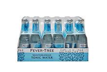 Load image into Gallery viewer, Fever-Tree Mediterranean Tonic Water Glass Bottles, No Artificial Sweeteners, Flavorings & Preservatives, 6.8 Fl Oz (Pack of 24)