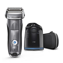 Load image into Gallery viewer, Braun Series 7 Men's Electric Foil Shaver with Wet & Dry Integrated Precision Trimmer and Cordless Razor with Clean & Charge Station, 7850cc