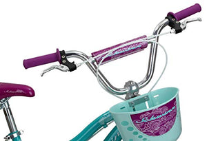 Schwinn Elm Girls Bike for Toddlers and Kids, 18-Inch Wheels
