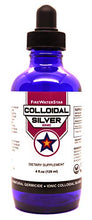 Load image into Gallery viewer, Colloidal Silver | 4 fl oz • Glass Bottle w/Dropper • 50 ppm | Ionic • Clear | Made from 99.99% Pure Silver | Boost Your Immune System