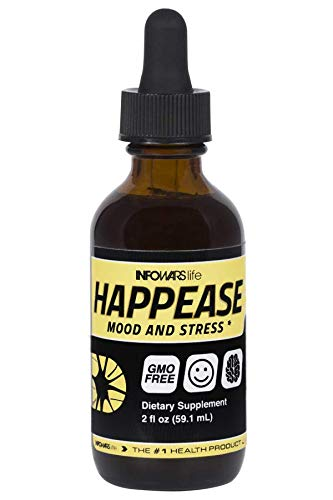Infowars Life - Happease (2 oz) - Mood & Stress Support Formula - Omigod, Dibs!™