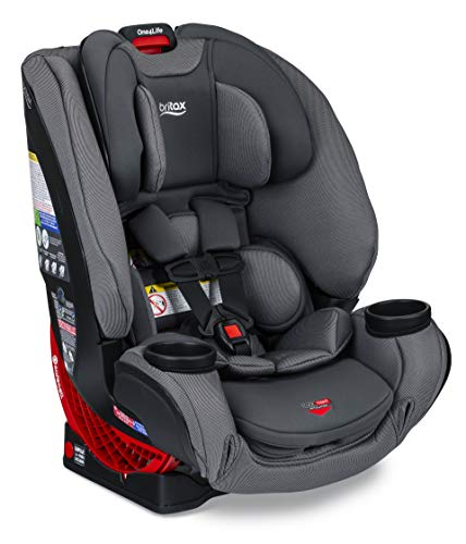 Britax One4Life ClickTight All-in-One Car Seat – 10 Years of Use – Infant, Convertible, Booster – 5 to 120 Pounds - SafeWash Fabric