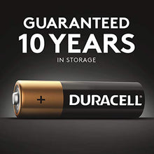 Load image into Gallery viewer, Duracell - CopperTop AA Alkaline Batteries - long lasting, all-purpose Double A battery for household and business - 20 Count