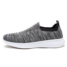 Load image into Gallery viewer, DREAM PAIRS Men's Slip on Walking Shoes Mesh Athletic Sneakers 171114-M Grey Size 9 D(M) US