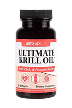 Load image into Gallery viewer, Infowars Life Ultimate Krill Oil (60 Softgels) - EPA, DHA, Phospholipids Supplement