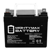 Load image into Gallery viewer, Mighty Max Battery ML35-12 - 12V 35AH U1 Deep Cycle AGM Solar Battery Replaces 33Ah, 34Ah, 36Ah Brand Product