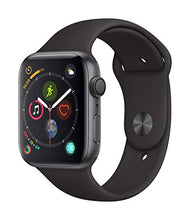 Load image into Gallery viewer, Apple Watch Series 4 (GPS, 44mm) - Space Gray Aluminium Case with Black Sport Band