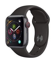 Load image into Gallery viewer, Apple Watch Series 4 (GPS + Cellular, 40mm) - Space Gray Aluminum Case with Black Sport Band