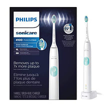 Load image into Gallery viewer, Philips Sonicare HX6817/01 ProtectiveClean 4100 Rechargeable Electric Toothbrush, White (Packaging May Vary)