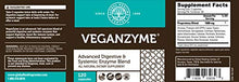 Load image into Gallery viewer, Global Healing Center Veganzyme, Advanced Natural Vegan Digestive & Systemic Enzyme for Healthy Digestion, Immune System, and Functional Balance (120 Capsules)