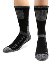 Load image into Gallery viewer, MIRMARU Men's 5 Pairs Multi Performance Outdoor Sports Hiking Trekking Crew Socks