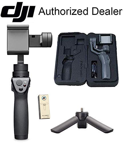 DJI Osmo Mobile 2 3-Axis Handheld Gimbal Stabilizer for Smartphones with Mini Tripod - Omigod, Dibs!™