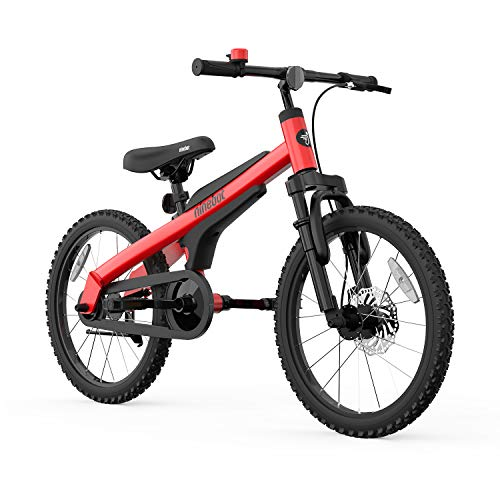 Segway Ninebot Kid's Bike for Boys and Girls, 18 inch with Kickstand