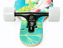 Load image into Gallery viewer, VOLADOR 42inch Freeride Longboard Complete Cruiser (Drop Through Deck - Camber concave)(Meditation)
