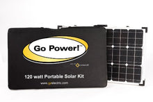 Load image into Gallery viewer, Go Power! GP-PSK-130 130W Portable Folding Solar Kit with 10 Amp Solar Controller