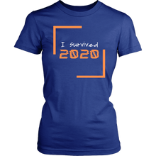 Load image into Gallery viewer, I Survived 2020 Women's T-Shirt
