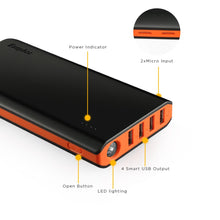 Load image into Gallery viewer, EasyAcc 20000mAh Portable Charger Fast Recharge External Battery Pack