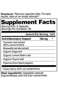 Infowars Life - BodEase Turmeric Supplement (120 Capsules) – Naturally Supports Joint Health, Mobility & Anti-Inflammatory Support