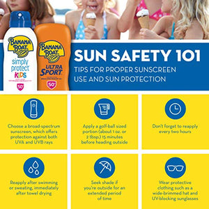 Banana Boat Ultra Sport Sunscreen Lotion, New Formula, SPF 50+, 12 Fl Oz (Pack of 1)