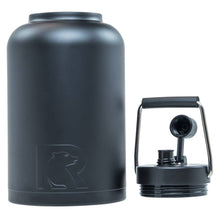 Load image into Gallery viewer, RTIC One Gallon Vacuum Insulated Jug, Black